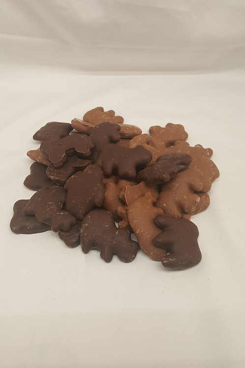 4 oz. Chocolate Covered Animal Crackers