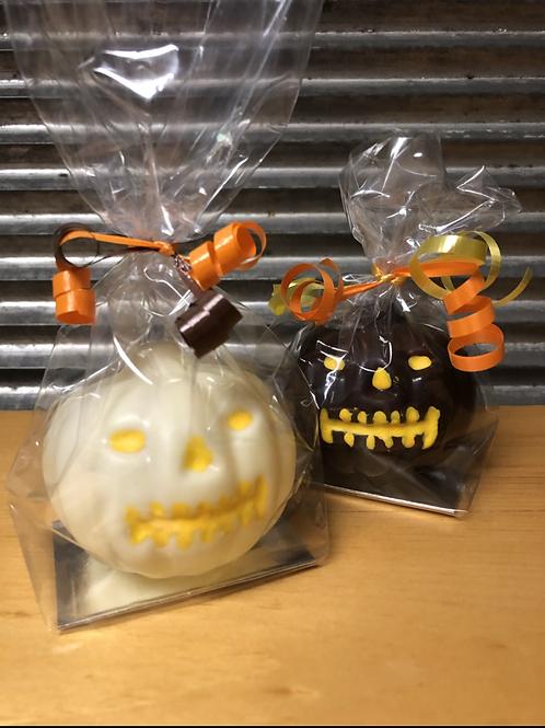 Scary little pumpkin
