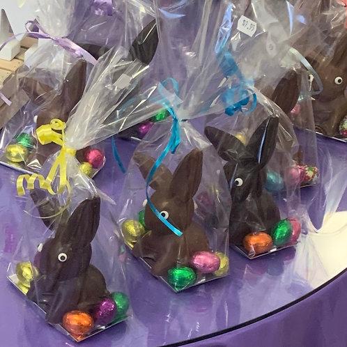 Chocolate Floppy Earred Bunny