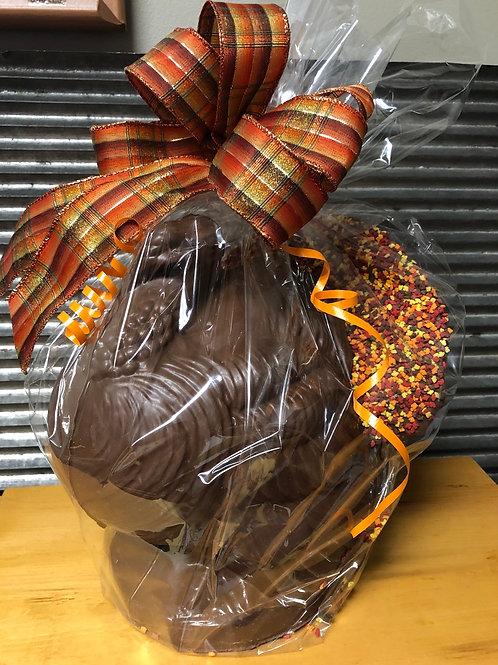 Chocolate turkey - large centerpiece