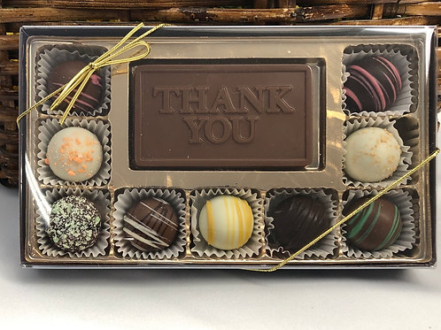 """Thank You"" Large Truffle Sampler"
