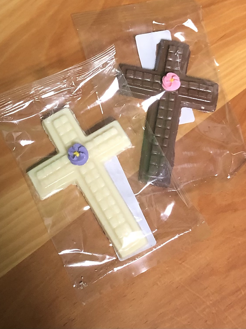 Small chocolate cross