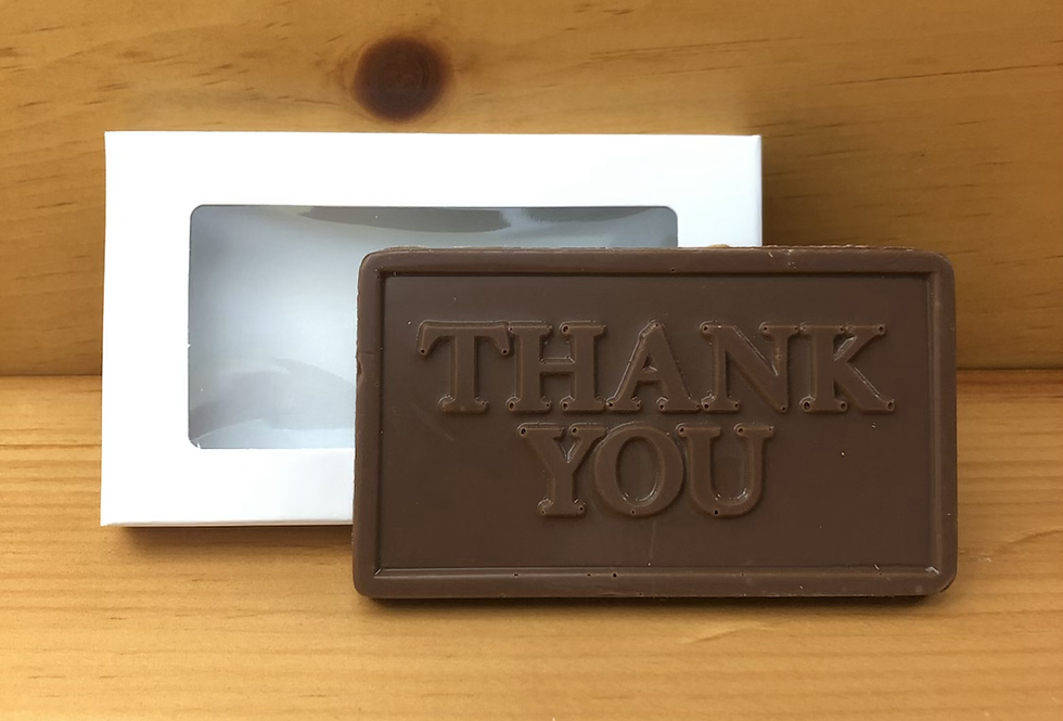 """""""Thank You"""" Business Card Holder"""