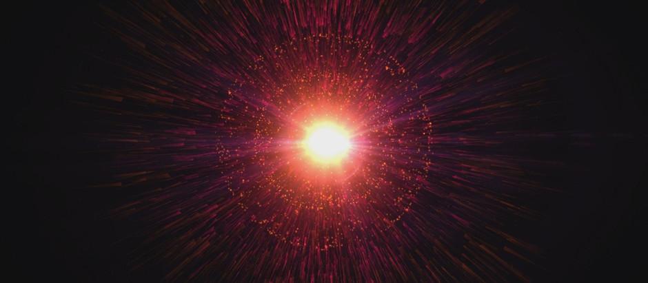 O Big Bang e a evolução do Universo: dos primeiros instantes até hoje.