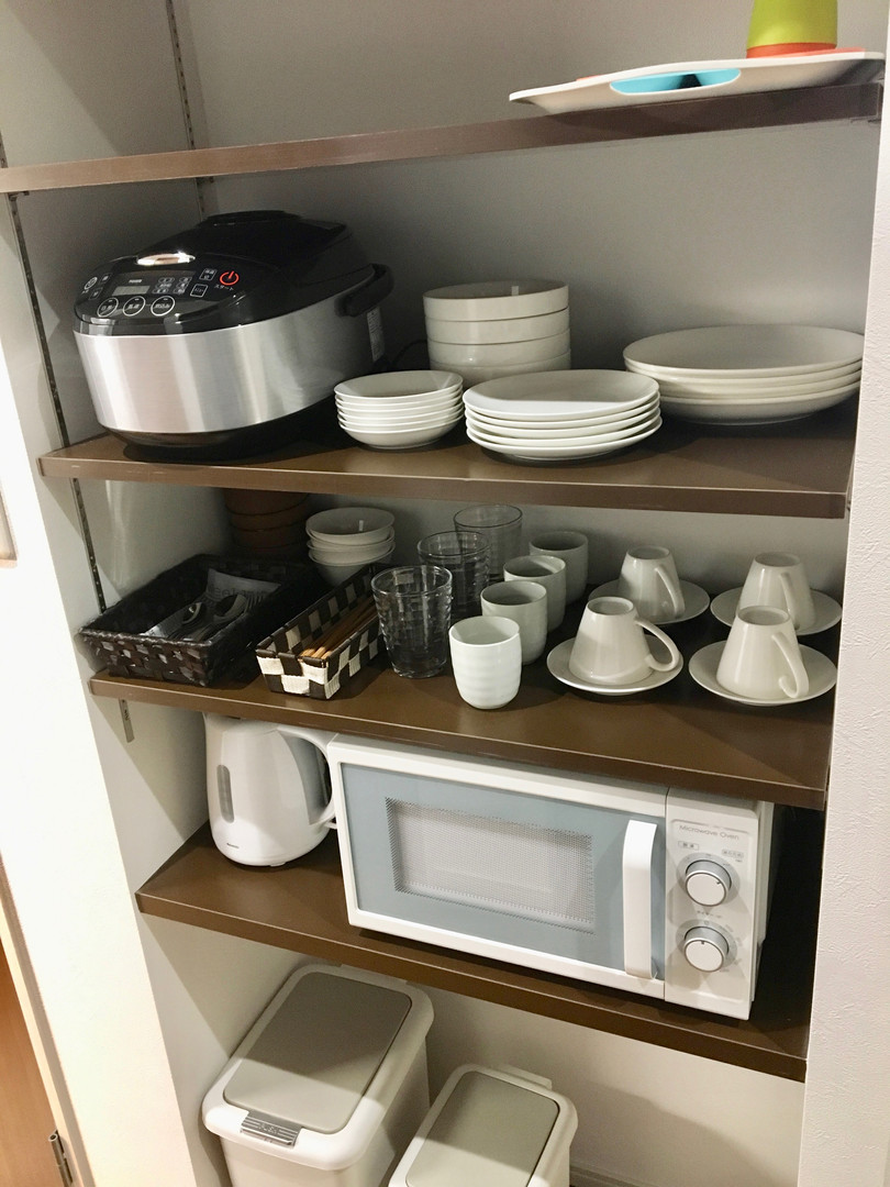 A-style Futenma エースタイル普天間 内装 設備写真 食器
