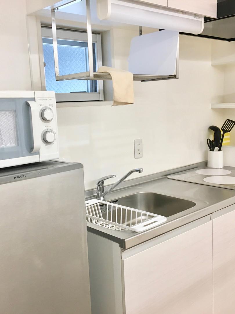 A-style Futenma エースタイル普天間 内装 設備写真 キッチン