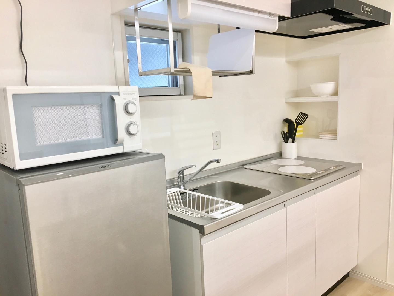 A-style Futenma 普天間 2-A号室 内装 キッチン
