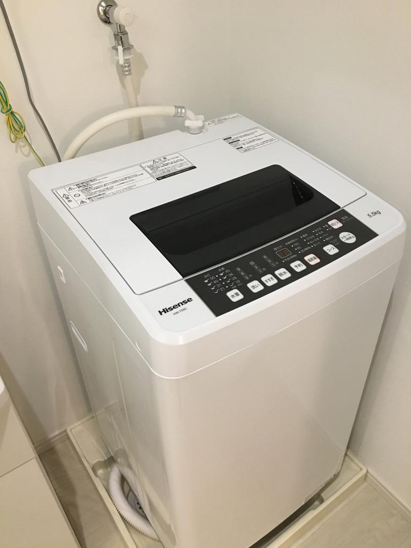 A-style Futenma エースタイル普天間 内装 設備写真 洗濯機