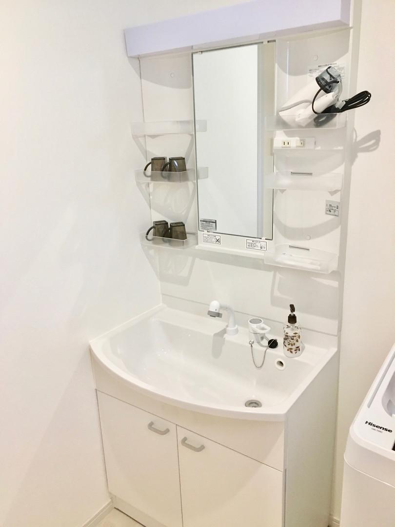 A-style Futenma エースタイル普天間 内装 設備写真 洗面台