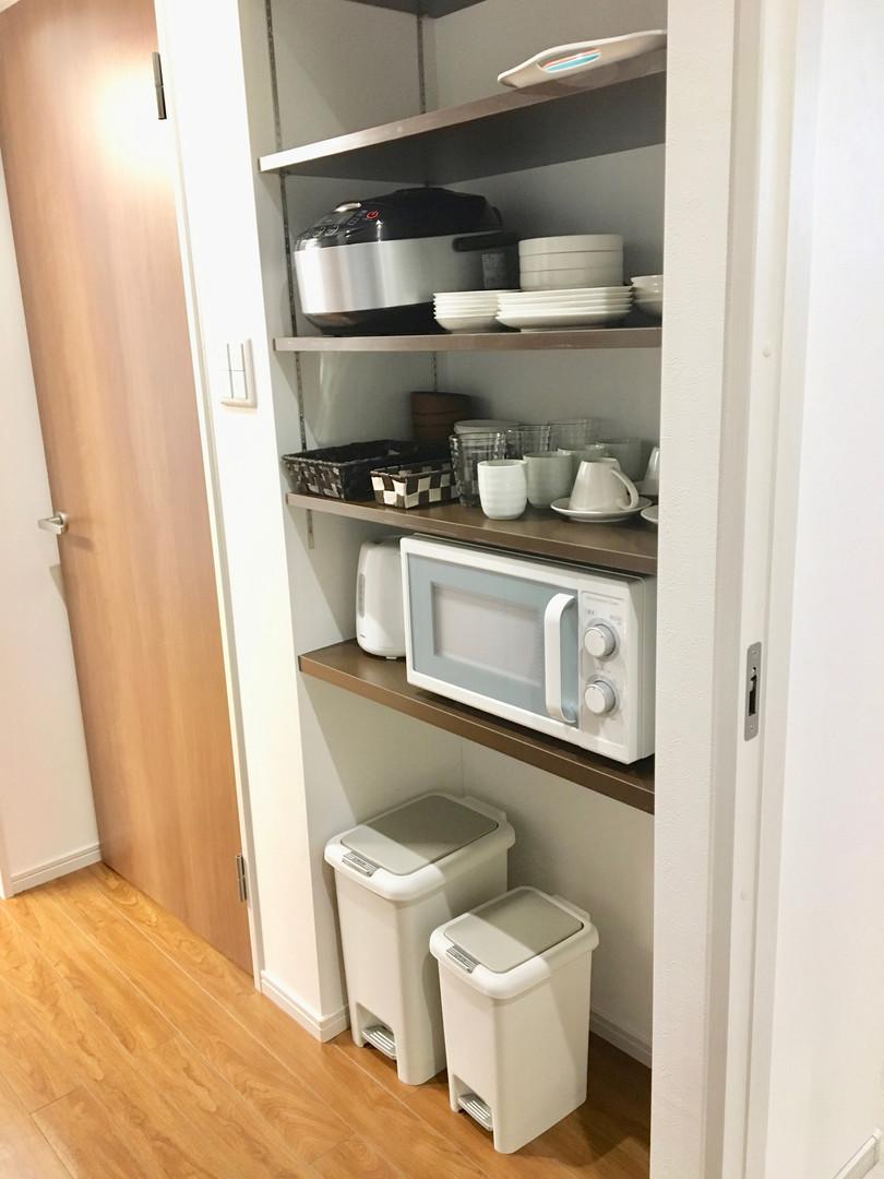 A-style Futenma エースタイル普天間 内装 設備写真 A号室 食器
