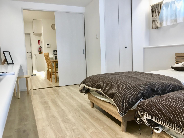 A-style Futenma 普天間 2-A号室 内装 ベッドルーム