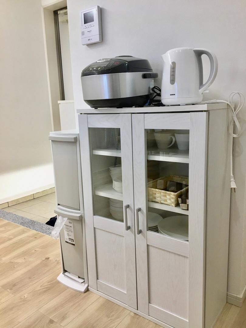 A-style Futenma エースタイル普天間 内装 設備写真 食器棚