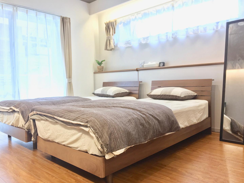 A-style Futenma 普天間 2-B号室 内装 ベッドルーム