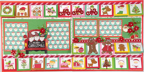 Merry Christmas Pre-Made Layout