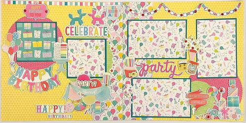 Birthday Party Layout Kit