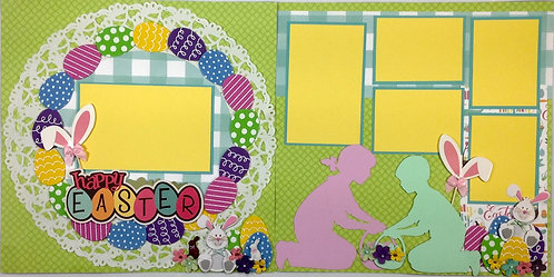 Happy Easter 2 Layout Kit