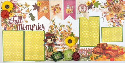 Fall Memories Layout Kit