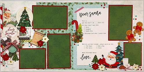 Dear Santa Layout Kit