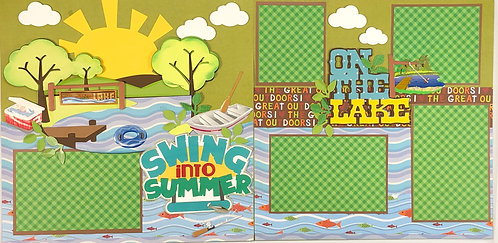Swing Into Summer Layout Kit