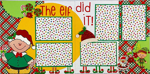 The Elf Did It! Layout Kit