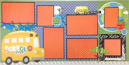 School Days Layout Kit