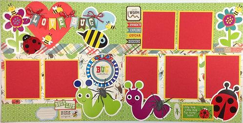 Love Bug Layout Kit