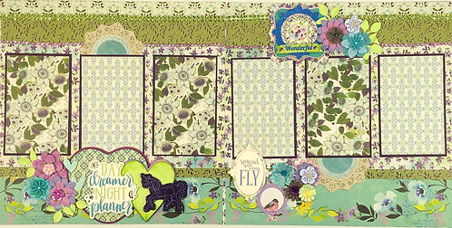 Day Dreamer Night Planner Pre-Made Layout
