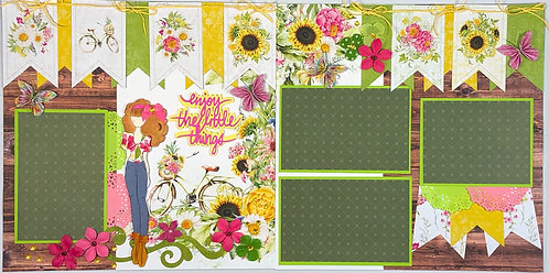 Enjoy the Little Things Layout Kit