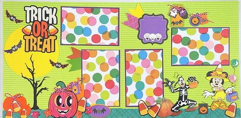 Trick or Treat Pre-Made Layout