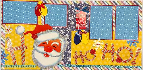 Ho Ho Ho Santa Layout Kit
