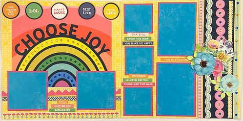 Choose Joy Pre-Made Layout