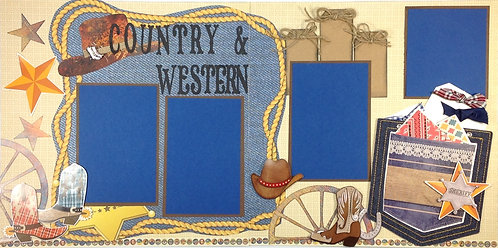 Country & Western Pre-Made Layout