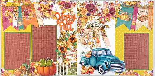 Happy Fall Layout Kit