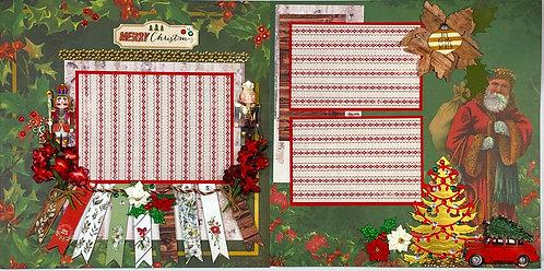 Father Christmas Layout Kit