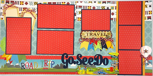 Road Trip Pre-Made Layout