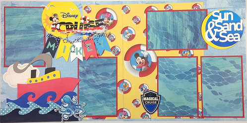 Disney Cruise Layout Kit