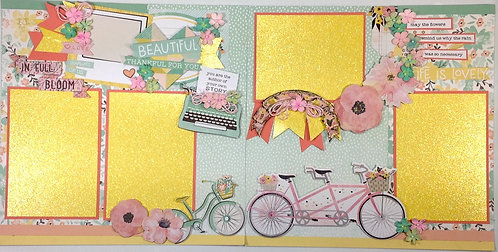 In Full Bloom Pre-Made Layout