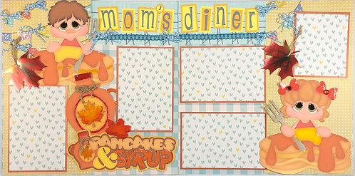 Mom's Diner Pre-Made Layout