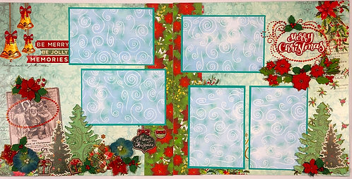 Be Merry Pre-Made Layout