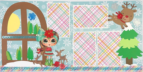 Waiting for Reindeer Layout Kit