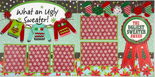 What an Ugly Sweater! Pre-Made Layout