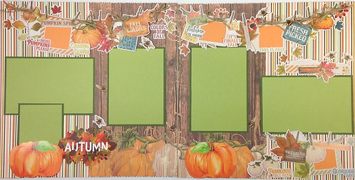 Autumn Layout Kit