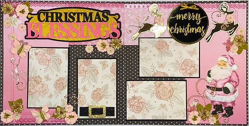 Christmas Blessings Layout Kit