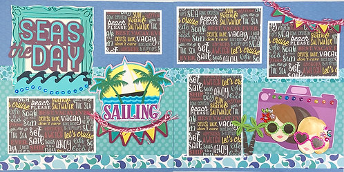 Seas the Day Pre-Made Layout