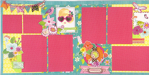 Happiness Pre-Made Layout