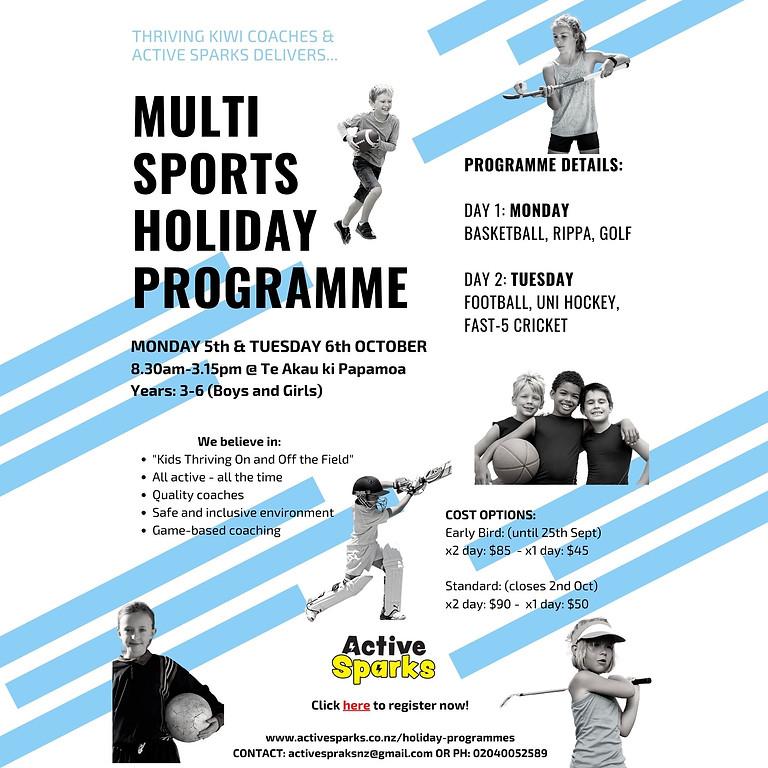 Holiday Multi-Sports Programme (Papamoa)