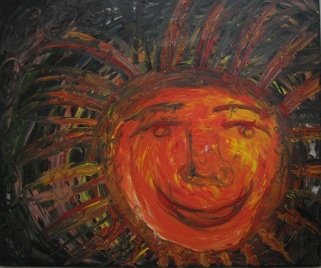El sol feliz