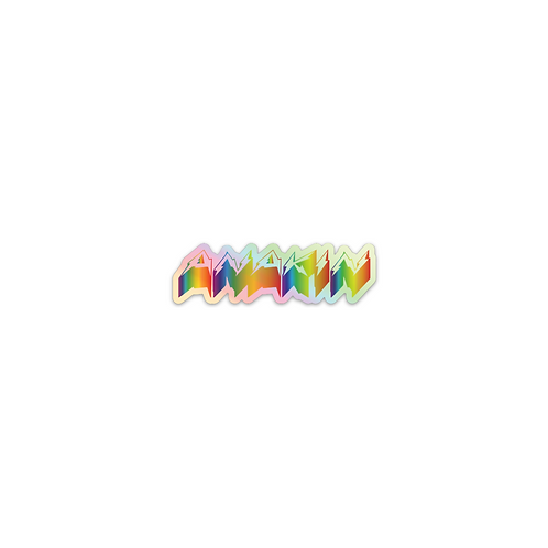 Holographic Sticker Pack (Rainbow)
