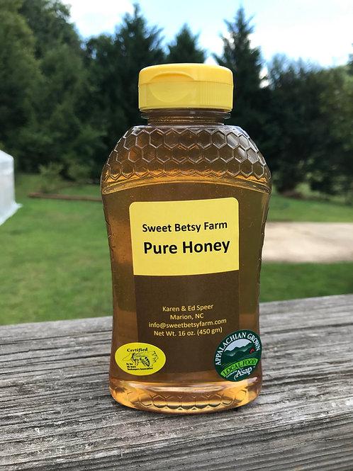 Spring Wildflower Honey - 16 oz Jar