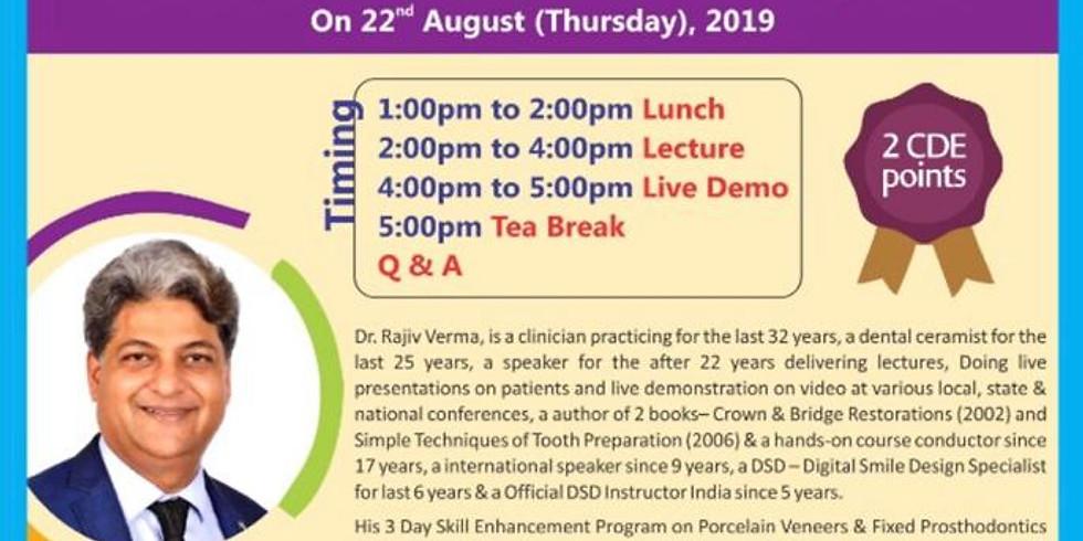 IDA North Delhi Lecture + Live Demo